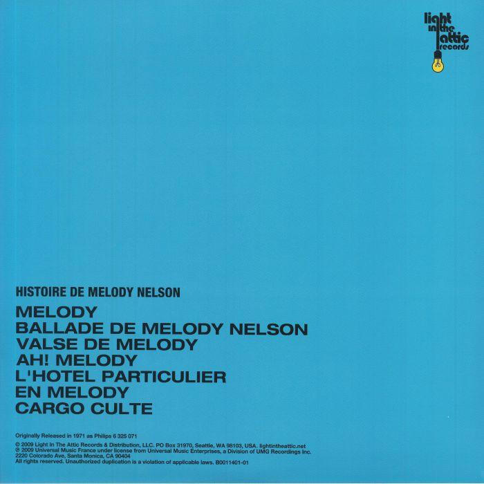 GAINSBOURG, Serge - Histoire De Melody Nelson