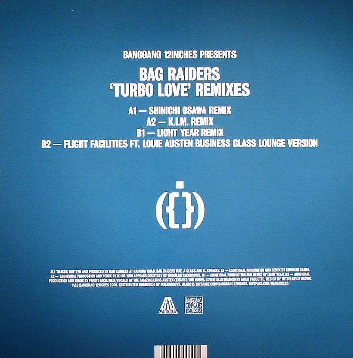 BAG RAIDERS - Turbo Love (remixes)