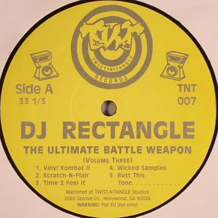 DJ RECTANGLE - The Ultimate Battle Weapon Volume 3