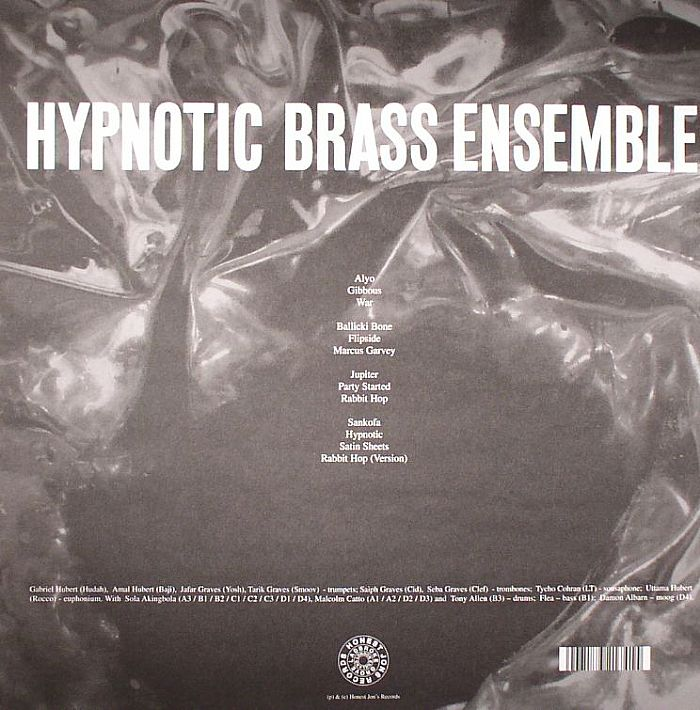 HYPNOTIC BRASS ENSEMBLE - Hypnotic Brass Ensemble