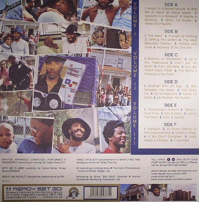 Cody Chesnutt The Headphone Masterpiece Vinyl At Juno Records
