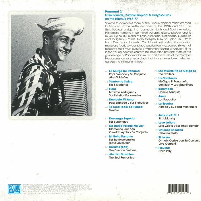 VARIOUS - Panama! Volume 2: Latin Sounds Cumbia Tropical & Calypso Funk On The Isthmus 1967-77