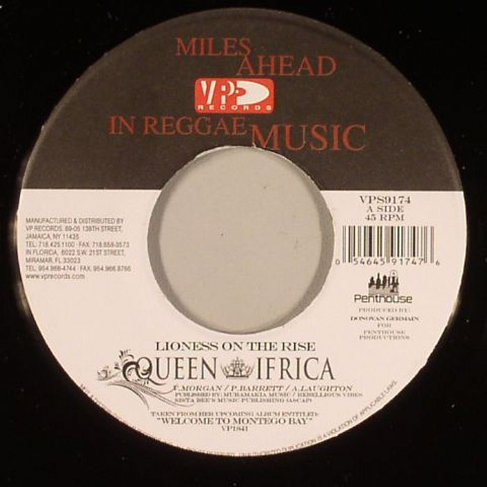 Queen Ifrica Lioness On The Rise Vinyl At Juno Records