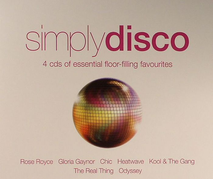 VARIOUS - Simply Disco: 4 CD's Of Essential Floor Filling Favourites