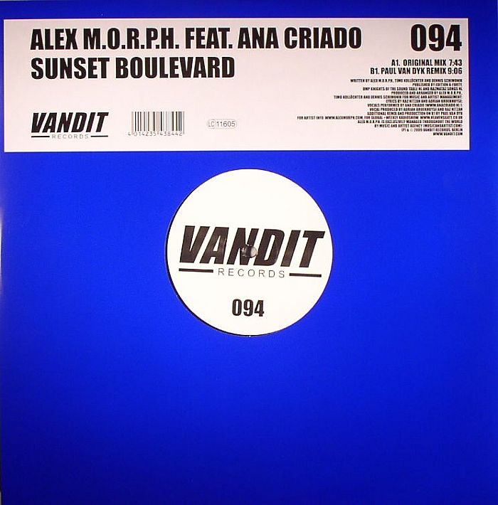 Alex M.O.R.P.H. LYRICS - Sunset Boulevard (Signum Mix ...