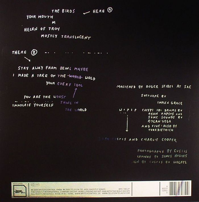 Telefon Tel Aviv Immolate Yourself Vinyl At Juno Records