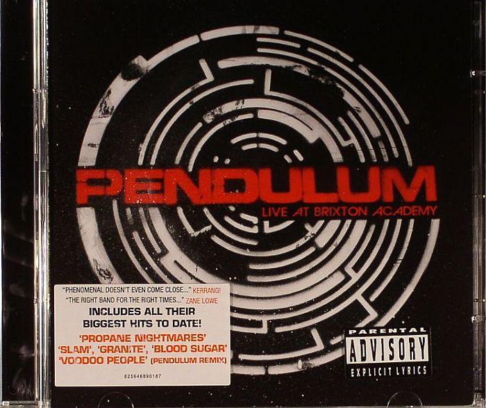 Pendulum Live At Brixton Academy Vinyl At Juno Records