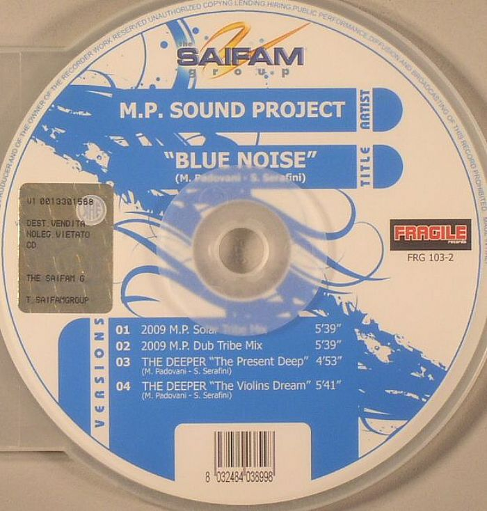 MP SOUND PROJECT - Blue Noise