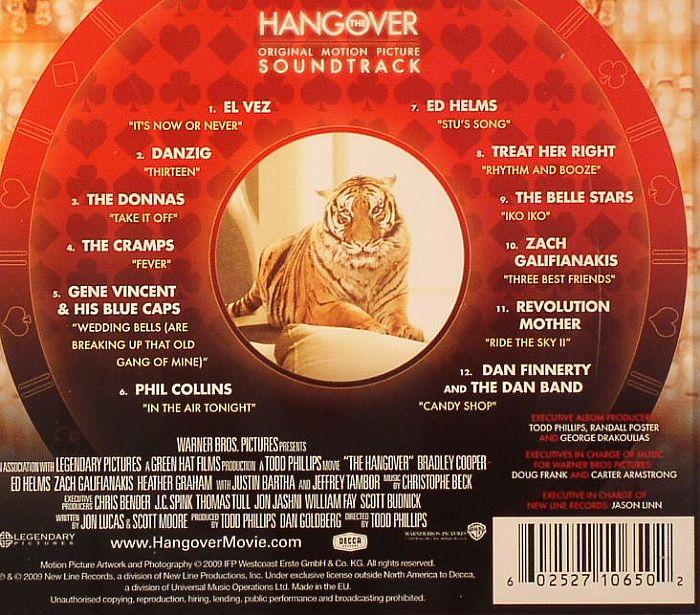 Various The Hangover Original Soundtrack Vinyl At Juno
