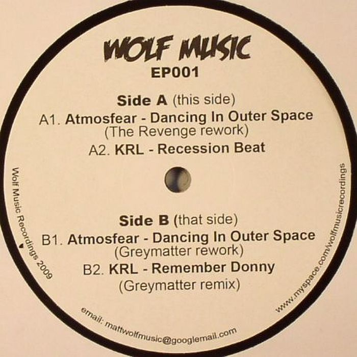 ATMOSFEAR/KRL - Dancing In Outer Space