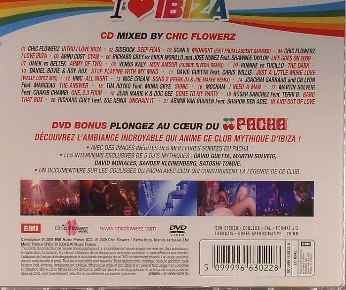 CHIC FLOWERZ/VARIOUS - I Love Ibiza