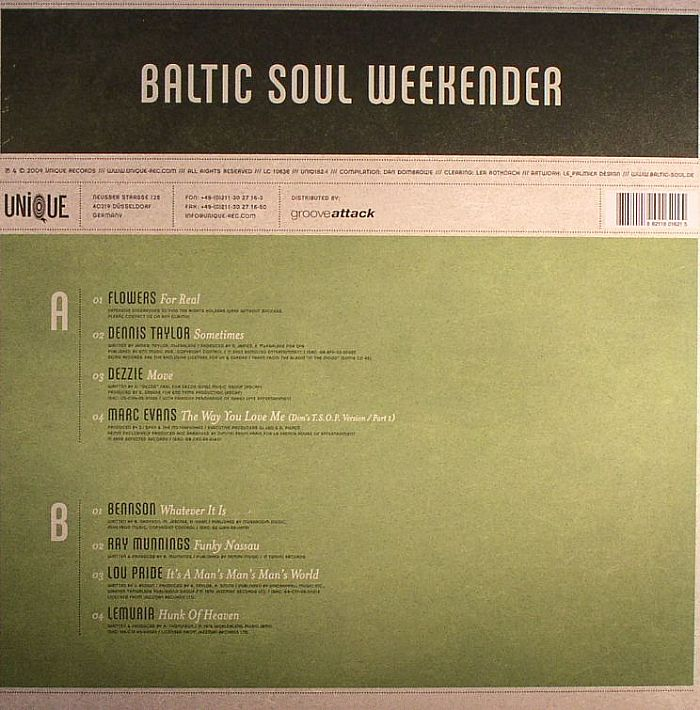 Various - Baltic Soul Weekender #2