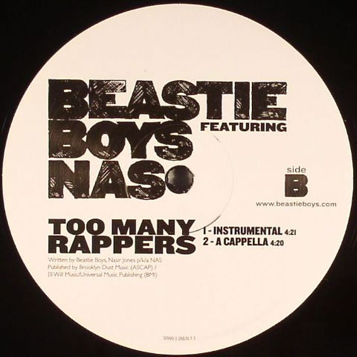 BEASTIE BOYS feat NAS - Too Many Rappers