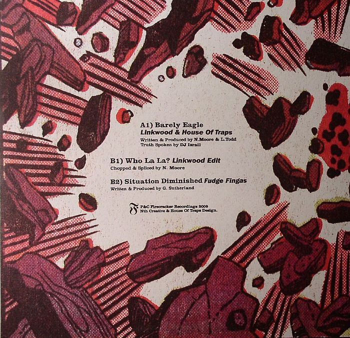 LINKWOOD & HOUSE OF TRAPS/LINKWOOD EDIT/FUDGE FINGAS - Firecracker EP 4 (repress)