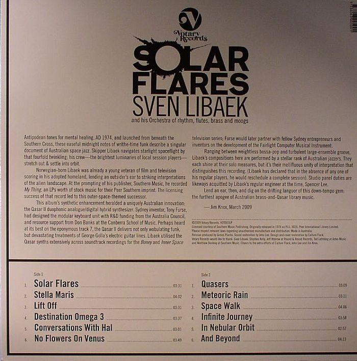 LIBAEK, Sven & HIS ORCHESTRA - Solar Flares