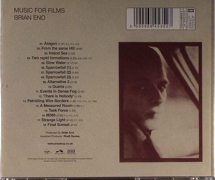 ENO, Brian - Music For Films (Original Masters Series)