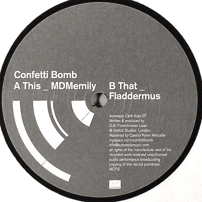 CONFETTI BOMB - MDMemily