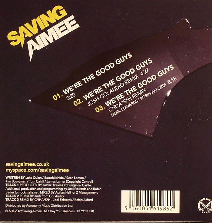 SAVING AIMEE - We're The Good Guys