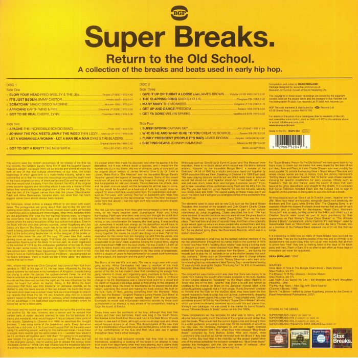 VARIOUS Super Breaks: Return To The Old School (Classic