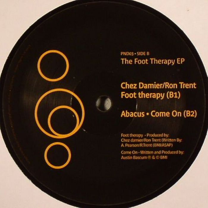 JOSHUA/CHEZ DAMIER/RON TRENT/ABACUS - The Foot Therapy EP