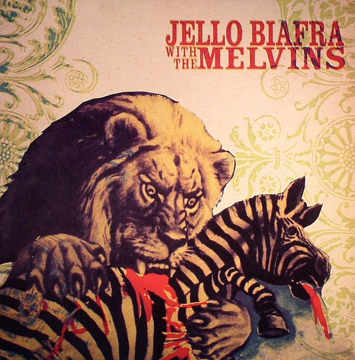 BIAFRA, Jello with THE MELVINS - Never Breathe What You Can't See