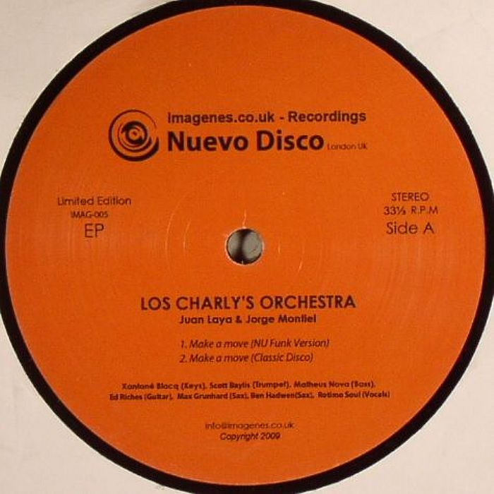 LOS CHARLY'S ORCHESTRA aka JUAN LAYA/JORGE MONTIEL - Nuevo Disco