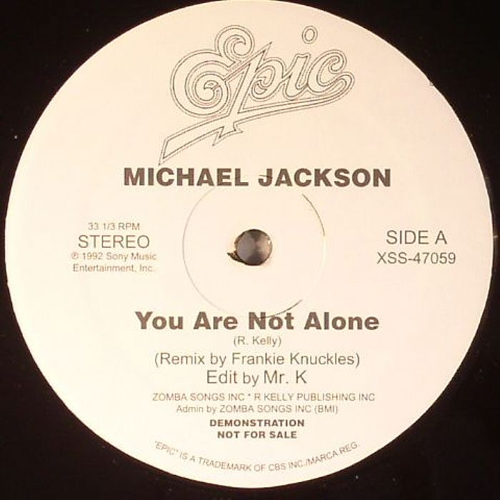JACKSON, Michael/LIL LOUIS - You Are Not Alone