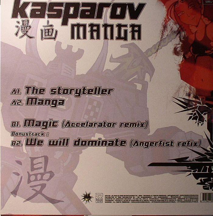 Kasparov Manga