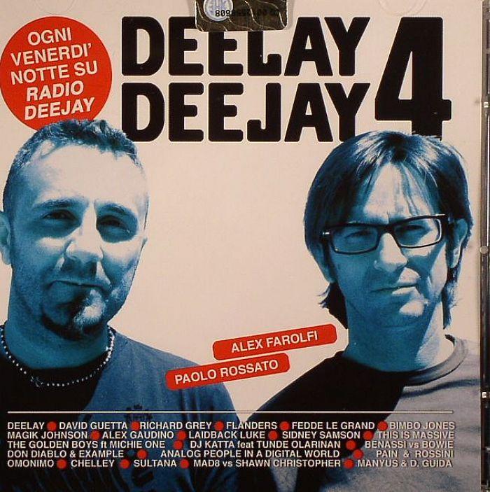 FAROLFI, Alex/PAOLO ROSSATO/VARIOUS - Deelay 4 Deejay