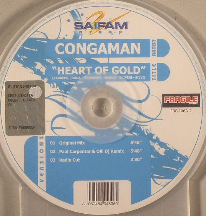 CONGAMAN - Heart Of Gold