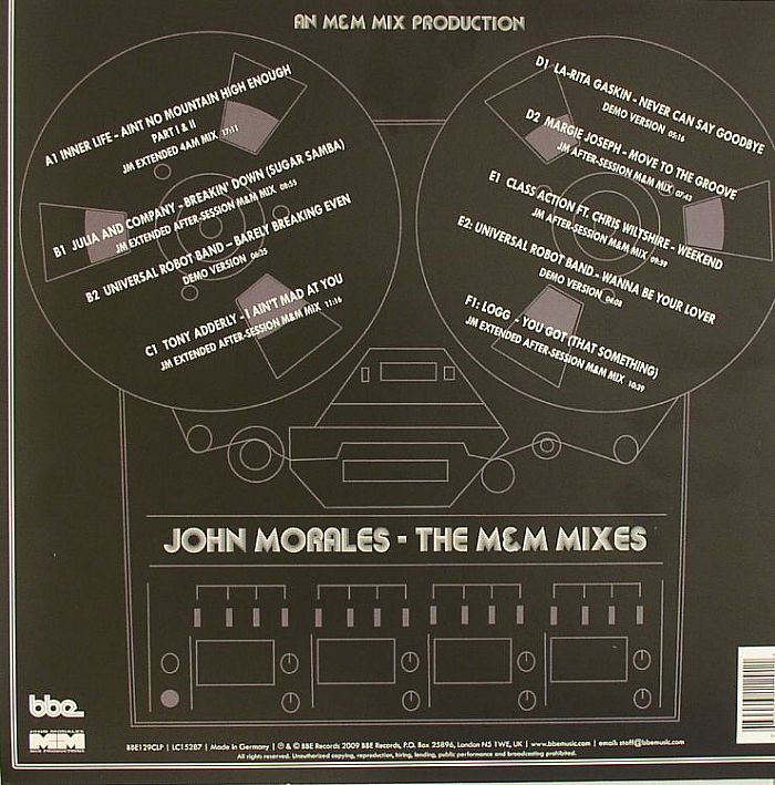 MORALES, John/VARIOUS - The M&M Mixes: NYC Underground Disco Anthems & Previously Unreleased Exclusive Salsoul Mixes