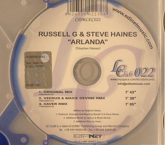 RUSSELL G/STEVE HAINES - Arlanda