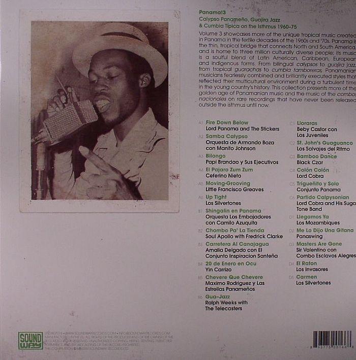 VARIOUS - Panama! 3: Calypso Panameno Guajira Jazz & Cumbia Tipica On The Isthmus 1960-75