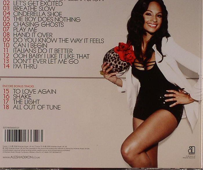 DIXON, Alesha - The Alesha Show: Encore