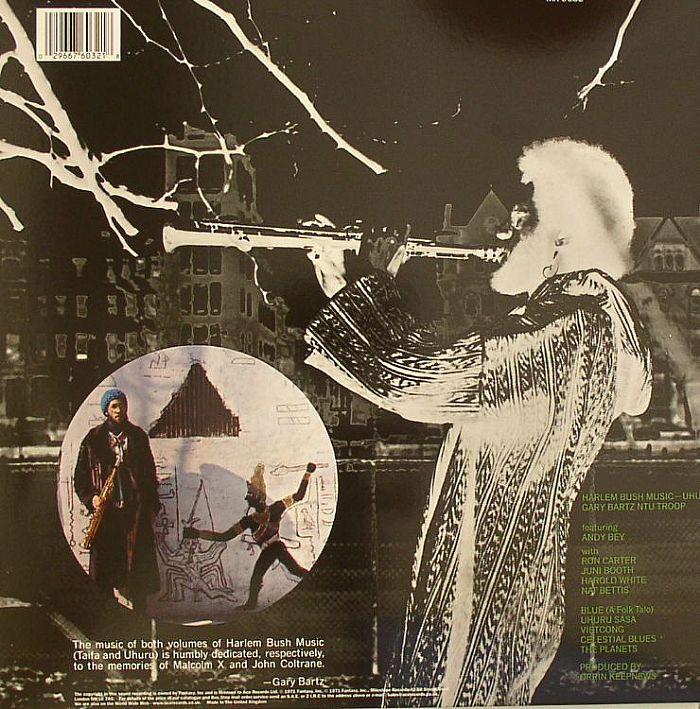 BARTZ, Gary - Harlem Bush Music Uhuru