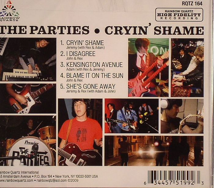 PARTIES, The - Cryin' Shame EP