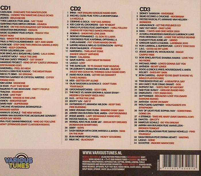 VARIOUS - Dance 2009: Yearmix Top 100