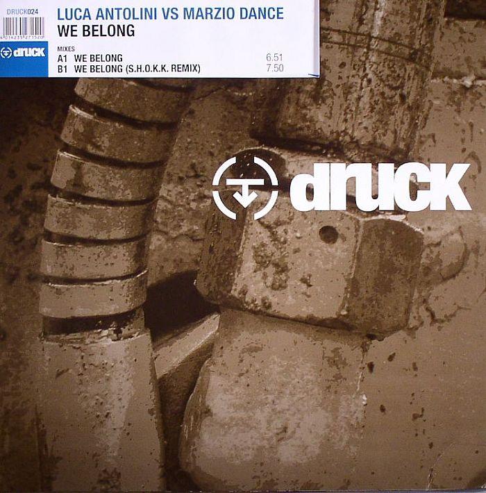 ANTOLINI, Luca vs MARZIO DANCE - We Belong