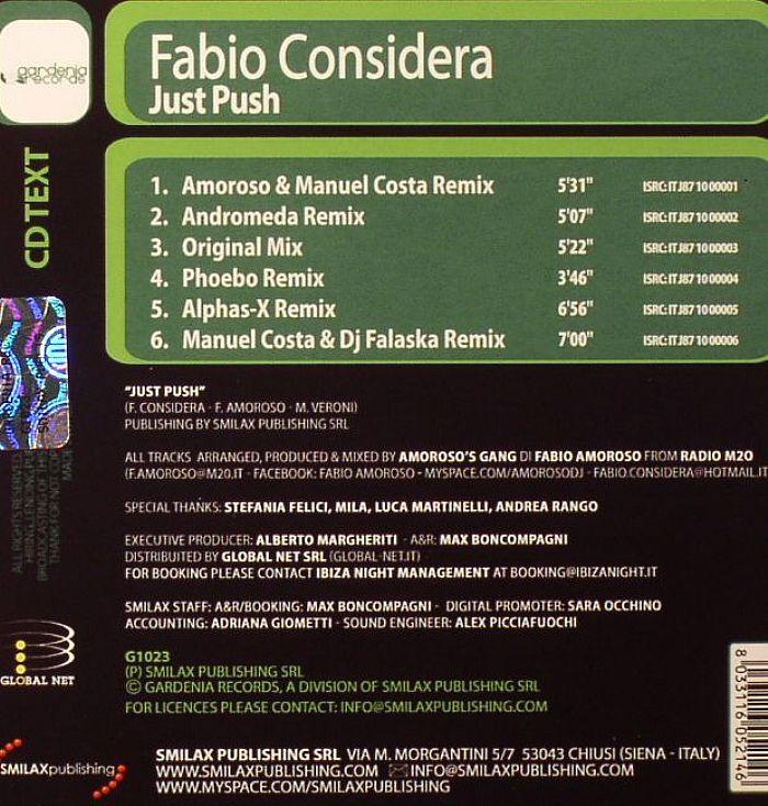 CONSIDERA, Fabio - Just Push