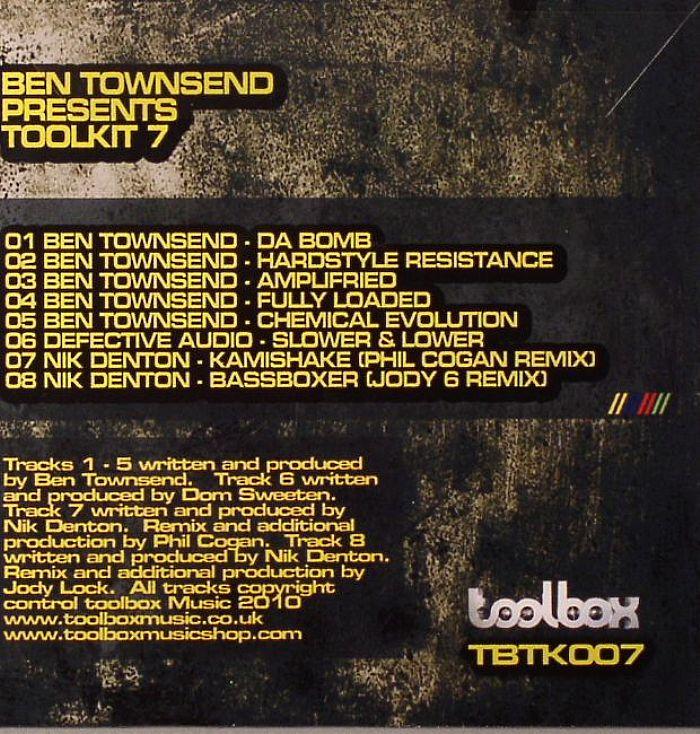 TOWNSEND, Ben/DEFECTIVE AUDIO/NIK DENTON - Toolkit 7