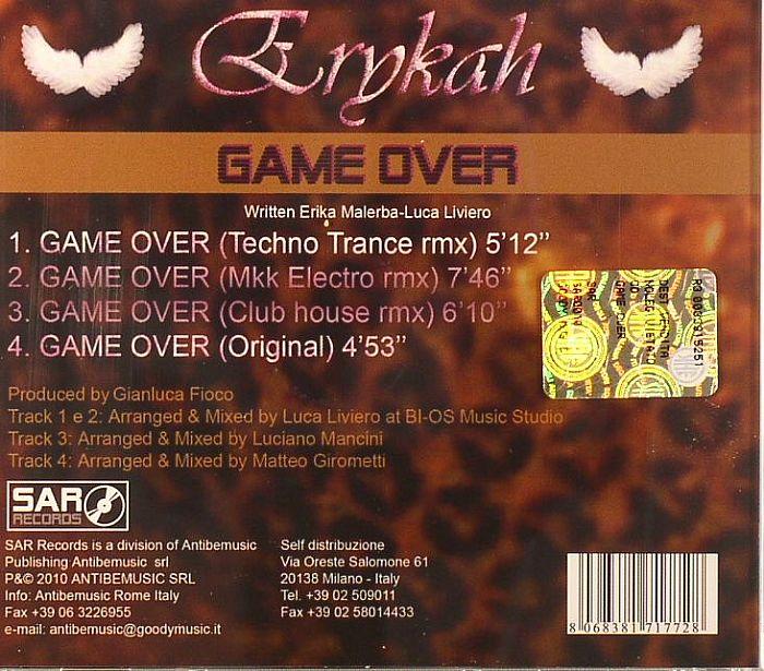 ERYKAH - Game Over