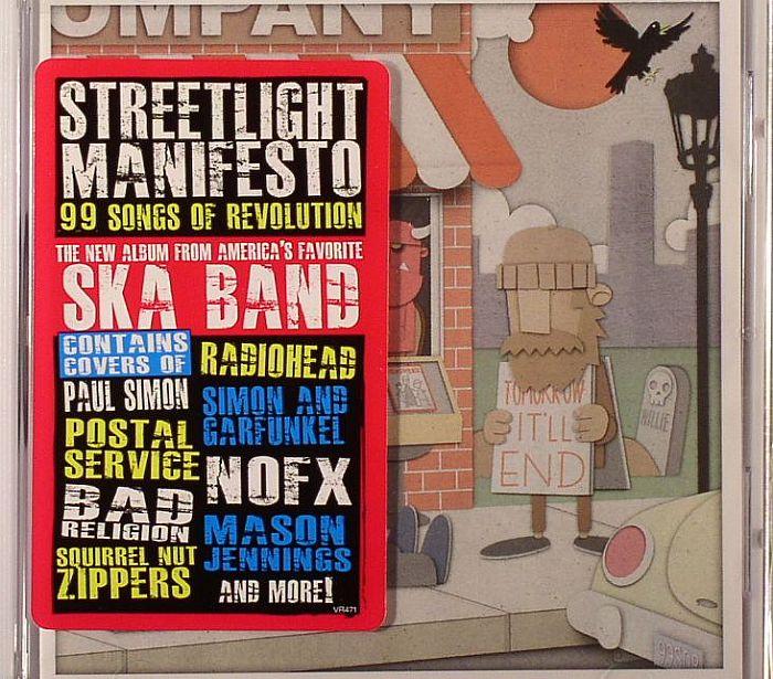 streetlight manifesto 99 songs of revolution vol 1 vinyl at juno records. Black Bedroom Furniture Sets. Home Design Ideas