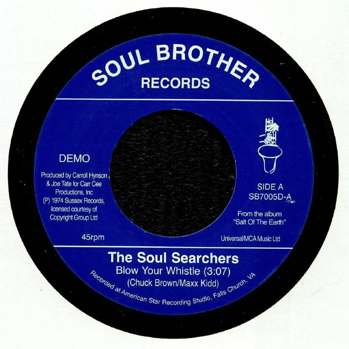 SOUL SEARCHERS, The - Blow Your Whistle