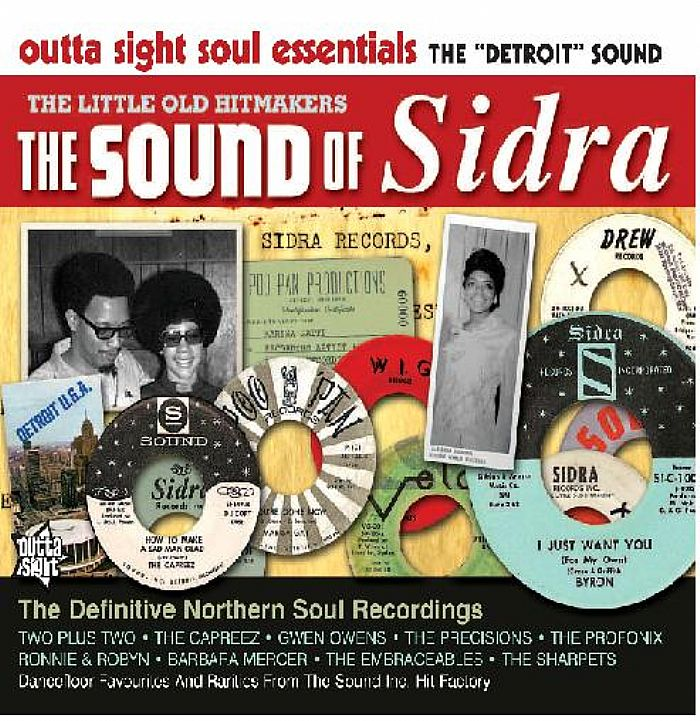 Various The Sound Of Sidra Rare Soul Gems From The