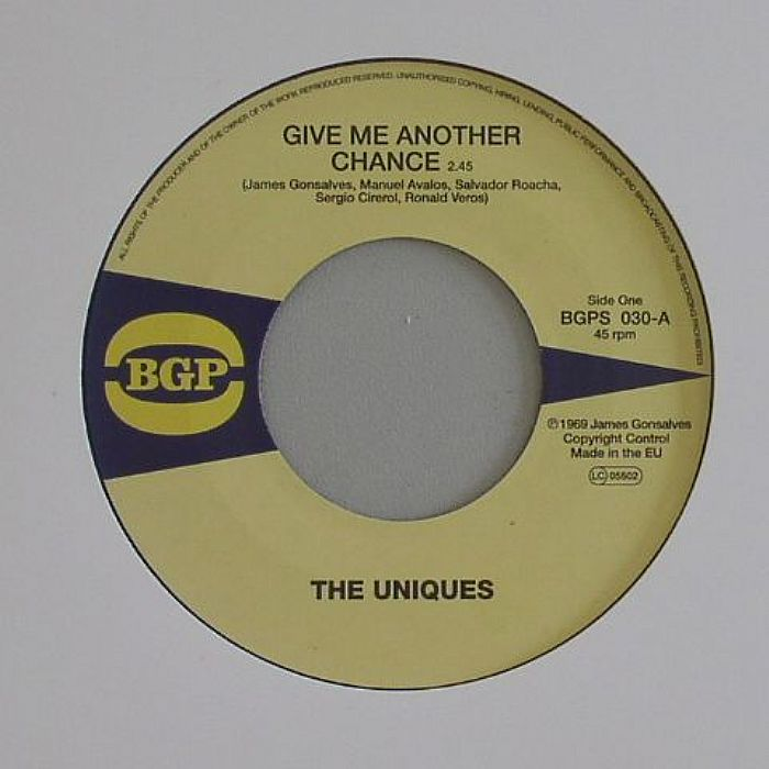 UNIQUES, The/THE ETERNAL FLAMES - Give Me Another Chance