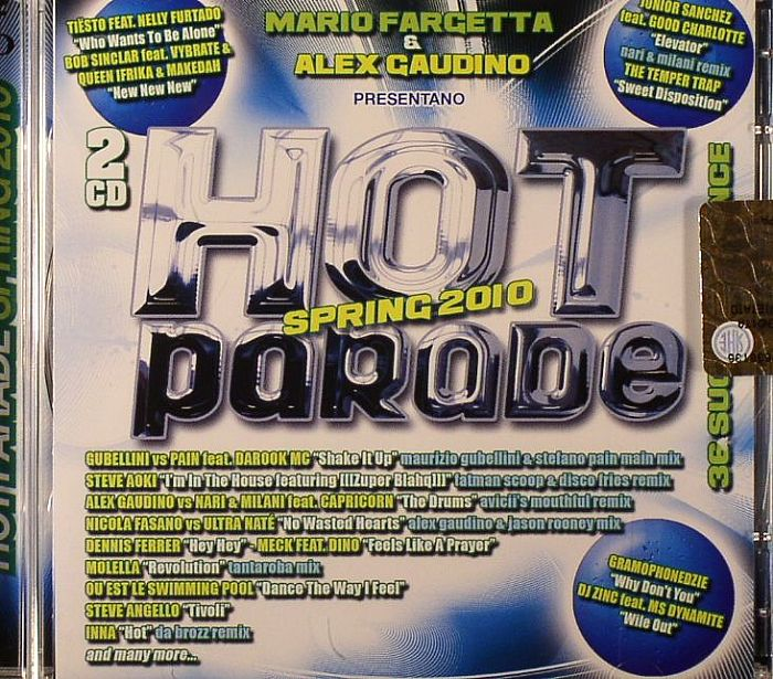 Mario Fargetta Alex Gaudino Various Hot Parade Spring 2010