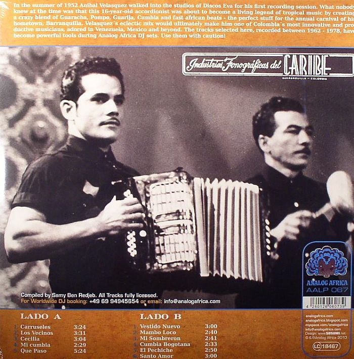 VELASQUEZ, Anibal Y SU CONJUNTO - Mambo Loco 1962-1978