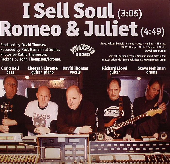 Rocket From The Tombs I Sell Soul Vinyl At Juno Records