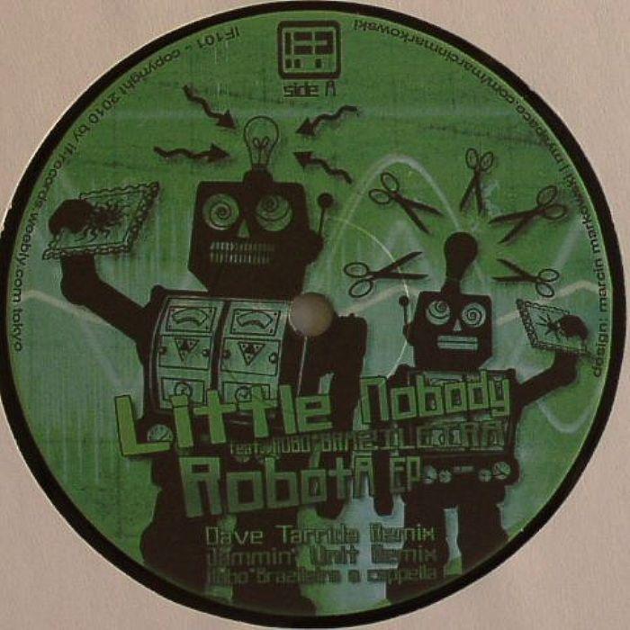 LITTLE NOBODY feat ROBO BRAZILEIRA - Robota EP