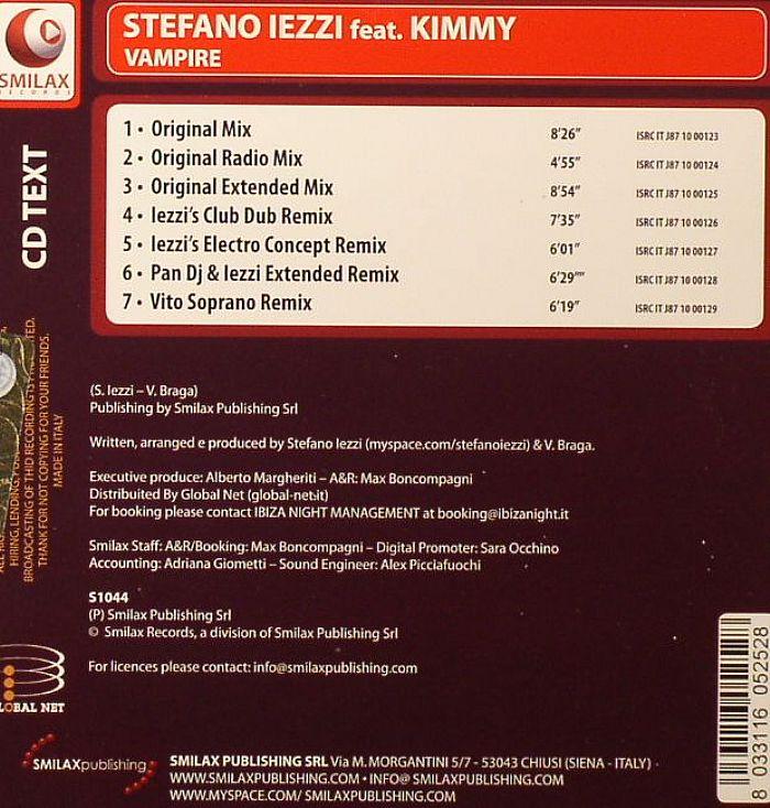 IEZZI, Stefano feat KIMMY - Vampire